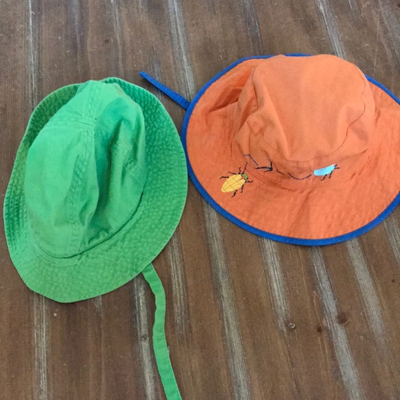 Hanna Andersson Other - 2 baby sun hats